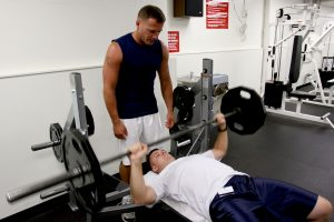 Marine Corps Strength Training - Bench Press