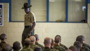 Marine Corps Recruit Knowledge is a guidebook to the customs and courtesies of the Marine Corps.