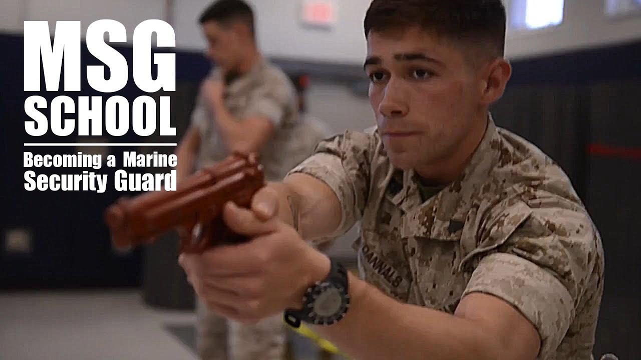 Marine security guard school details