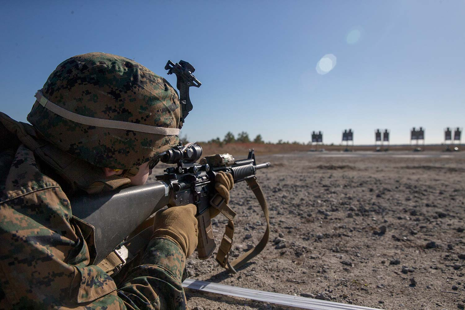 The Marine Corps 4 Weapons Safety Rules